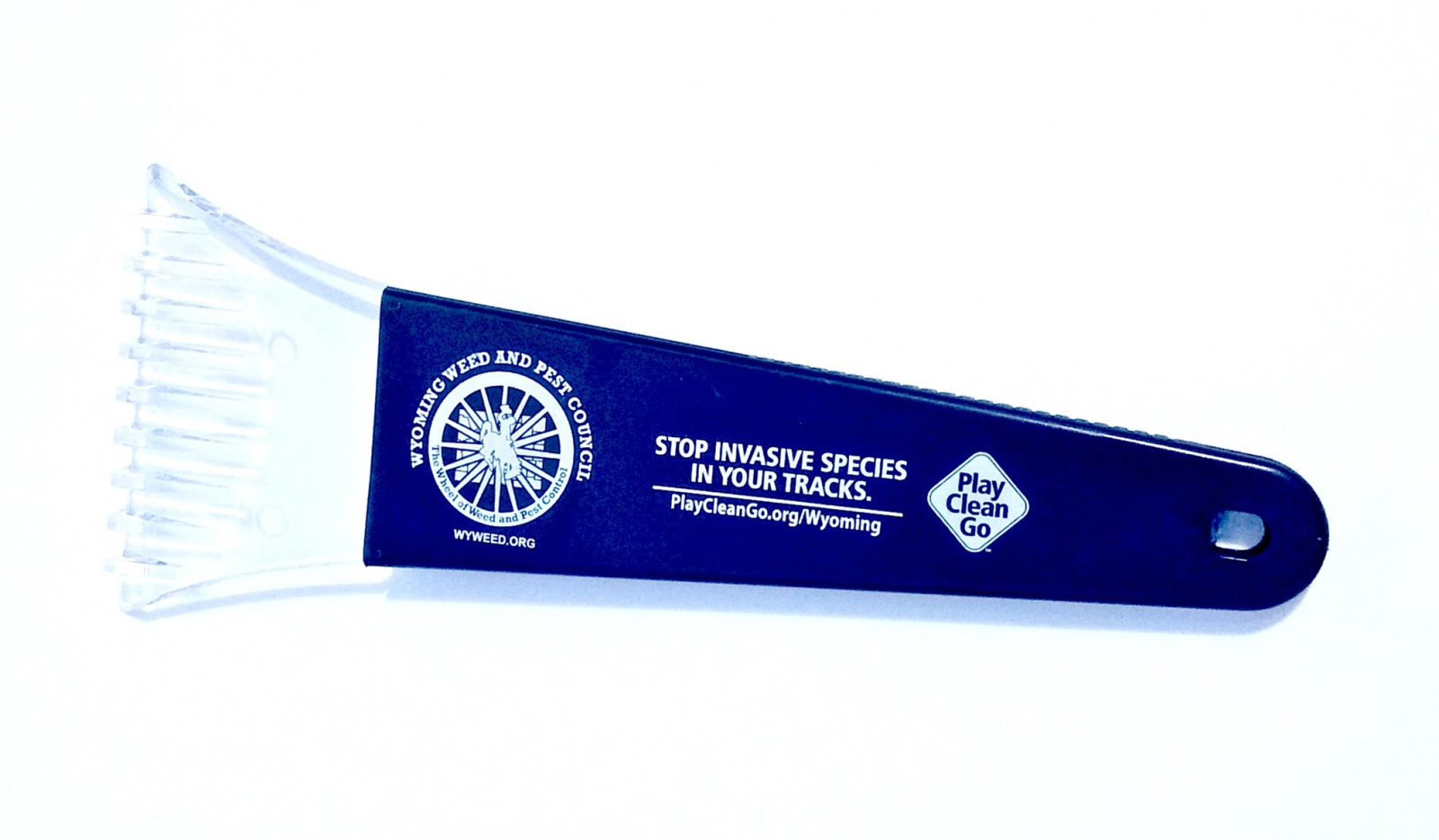 PlayCleanGo/Wyoming Weed & Pest Council Ice Scraper, Box of 10