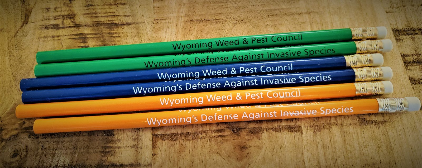 Wyoming Weed & Pest Council Pencils, Pack of 15